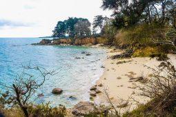 Ente Beg-Meil et le Cap Coz Roche percée